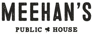 Meehans Downtown logo scroll